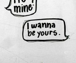 arctic monkeys, i wanna be yours, and r u mine image