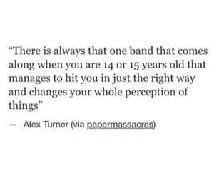 band, alex turner, and quotes image