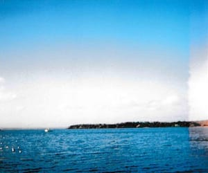 35mm, blue, and light leak image