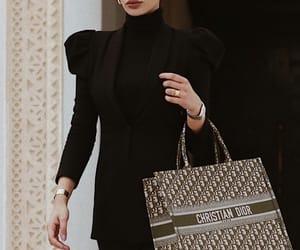 babe, bag, and black image