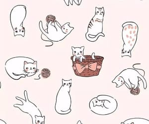 background, wallpaper, and cats image