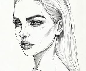drawing, pretty, and art image