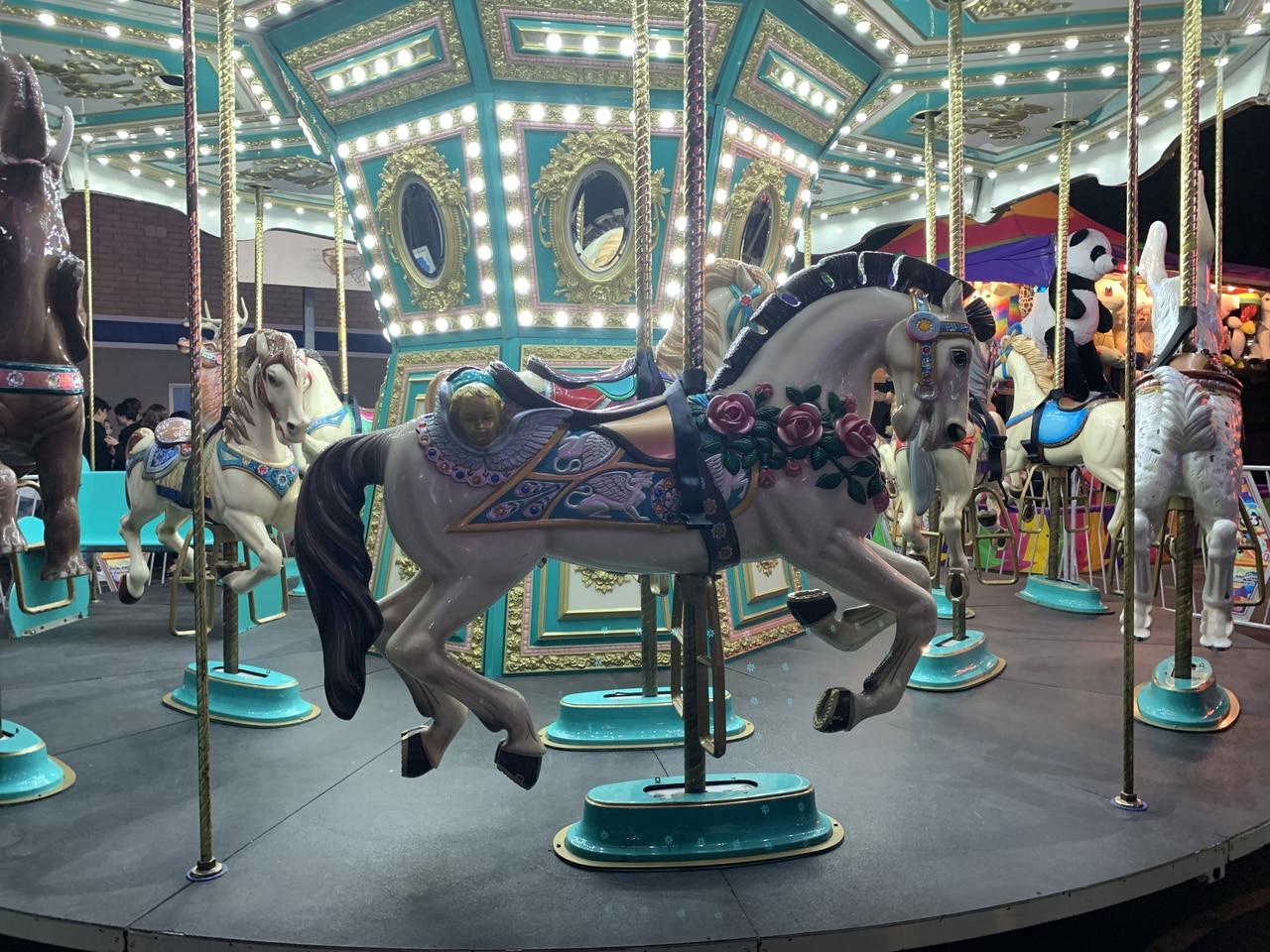 Prettiest Carousel Horse I Ve Seen On We Heart It