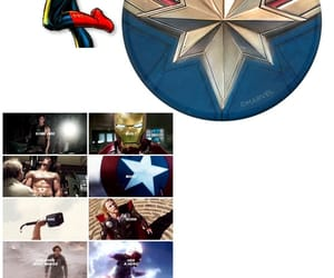 cap, Marvel, and wallpaper image