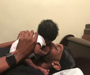 babies, cuteness, and fatherhood image