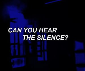 black, blue, and dark image