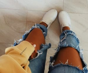 denim, grunge, and outfit image