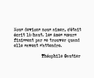 quote, french quote, and théophile gautier image