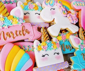 blush, colourful, and Cookies image