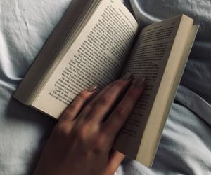 bed, book, and classic image