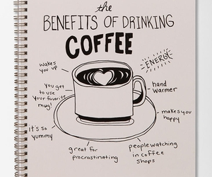 coffee, text, and energy image