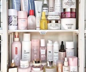 beauty, shelf, and skincare image