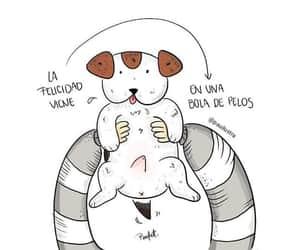 amor, felicidad, and perrito image