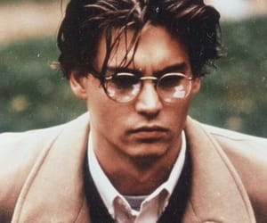 johnny depp, actor, and vintage image