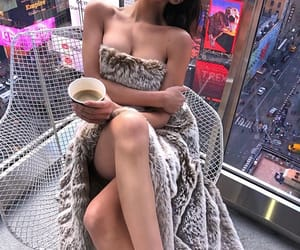 coffee, hotel, and new york image