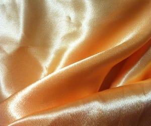 artwork, fabric, and orange image