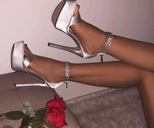 girly, high heels, and shoes image