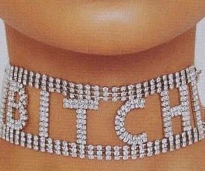 aesthetic, bitch, and choker image