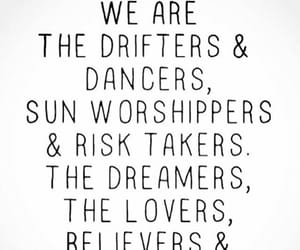 quotes, dreamers, and lovers image