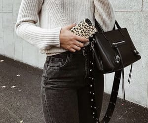 aesthetic, bags, and black image