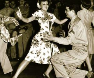 1940s, swing dance, and vintage image