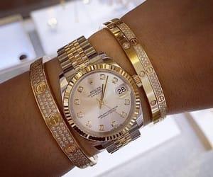 bracelet, chic, and designer image