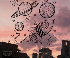 wallpaper, planets, and tumblr image