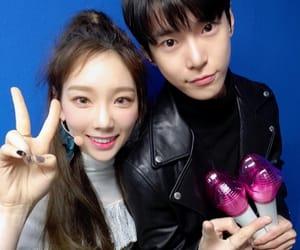 kpop, taeyeon, and doyoung image