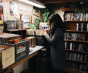 bands, basement, and books image