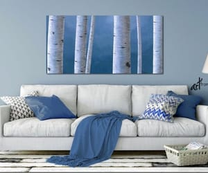 etsy, master bedroom, and aspen tree image
