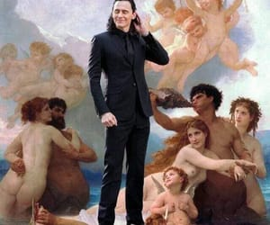 art, tom hiddleston, and celebrities image