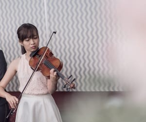 coral, music, and violin image