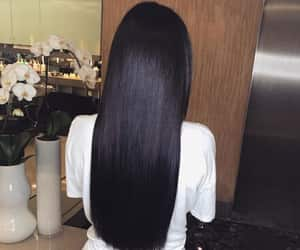 hair and black hair image