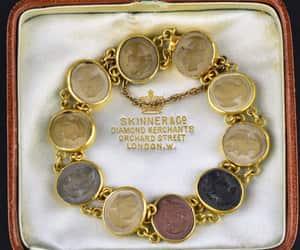 antique, intage, and bracelet image