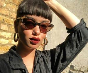 fashion, girl, and lipstick image