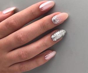 glitter, nail art, and pearl image