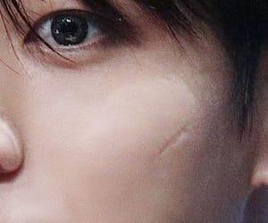 eye, scar, and jk image
