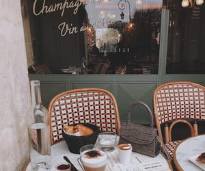 coffee, food, and paris image