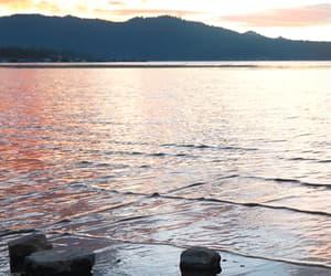 gif and sunset gif image