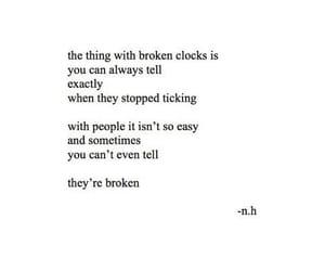 broken, depressed, and depressing image