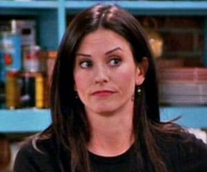 chandler bing, icon, and monica geller image