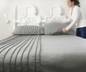 bedding, wool, and grey image