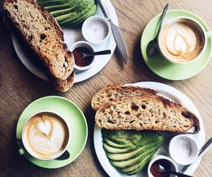 coffee, food, and green image