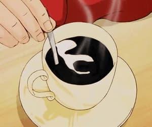 90s, coffee, and anime gif image