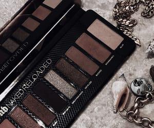 eyeshadow, jewelry, and makeup image