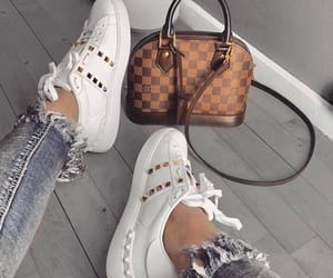 shoes sneakers, fashion style, and we heart it image