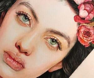 acrylic paint, art, and arte image