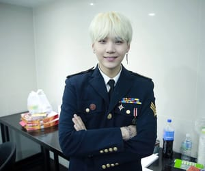 army, yoongi, and agust d image