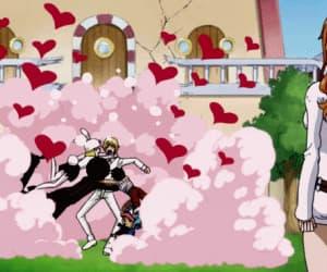 anime, gif, and luffy image