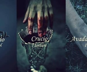 harry potter, spells, and crucio image